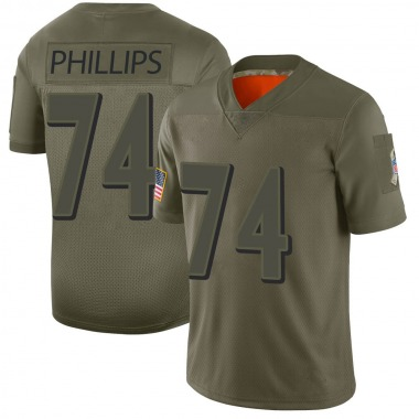 Youth Nike Baltimore Ravens Tyre Phillips 2019 Salute to Service Jersey - Camo Limited